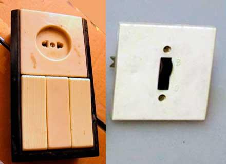 Старые советские выключатели